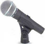 Wired microphone rentals